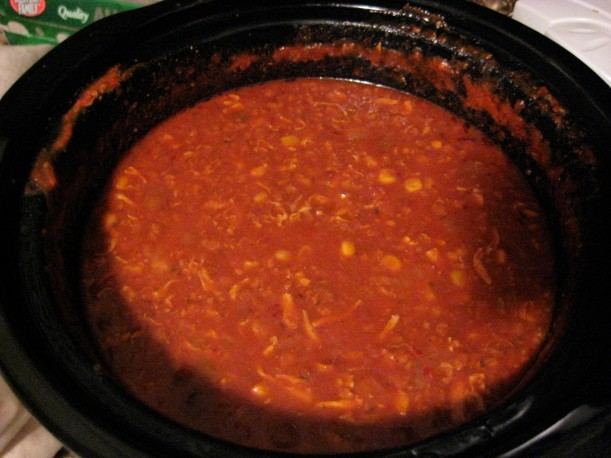 Beer chili, or Brunswick stew.  Whatever you call it, it's delicious!
