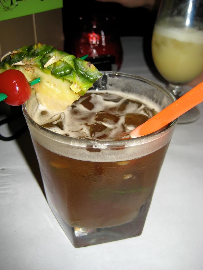 The mai tai at the Conga Lounge