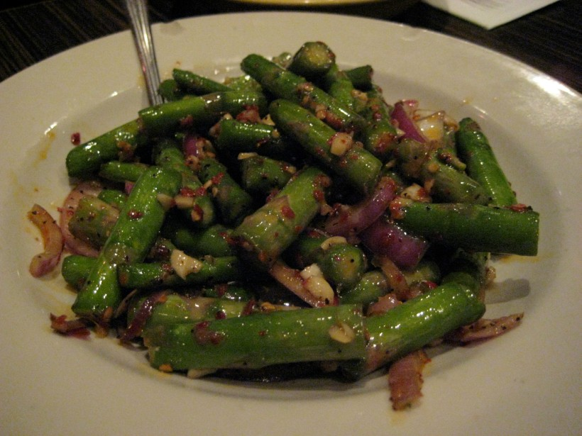 "Cold asparagus ""salad""/appetizer"