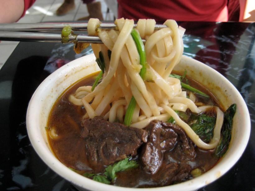 Delicious beef noodles