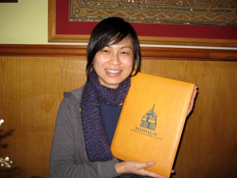 I had high expectations, and getting pretty excited just holding the menu...