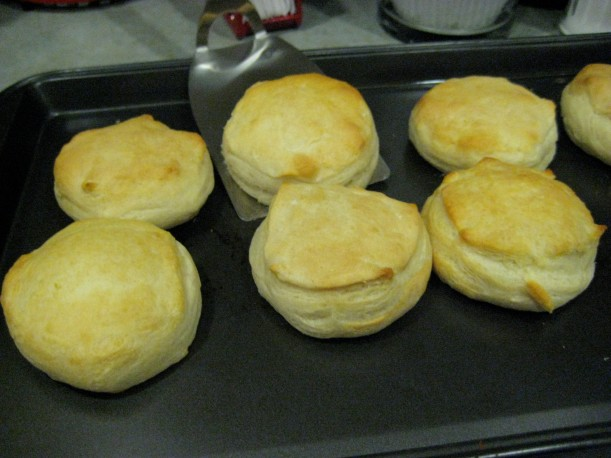 Hot biscuits!