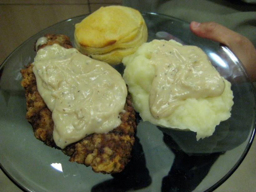 My plate.  Mmmm, good!