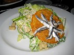 The Brewer's Art Caesar salad -- very unique presentation.