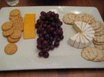 Cheese plate at T&E's house
