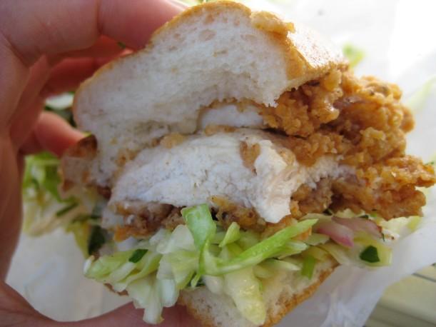 Best fried chicken sandwich ever.