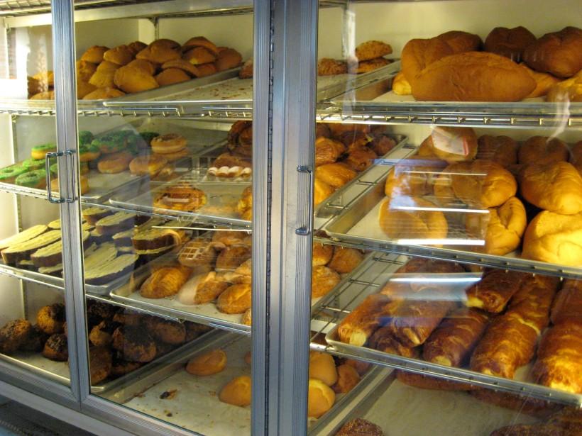 Just a third of the baked goods at Casa Latina