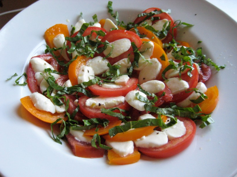 Caprese Salad: visually and gastronomically tasty!