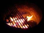 The fire makes everything taste so good!