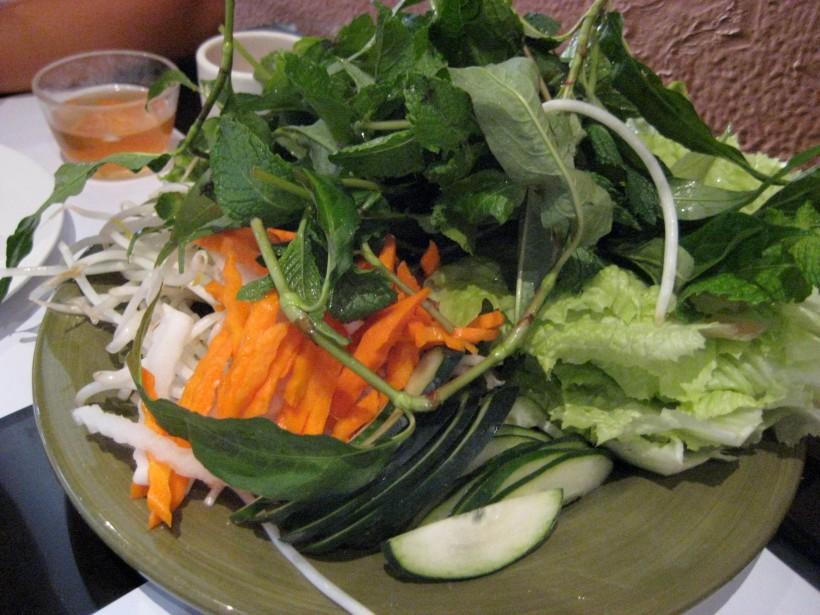 Ginormous plate of veggies!