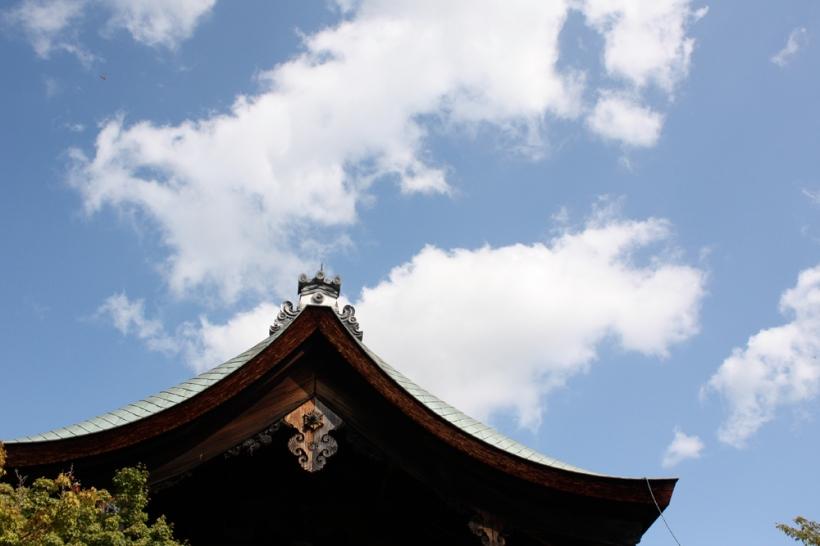 Main temple at Ryoan-ji