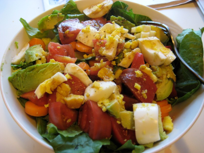Refreshing and colorful summer salad.