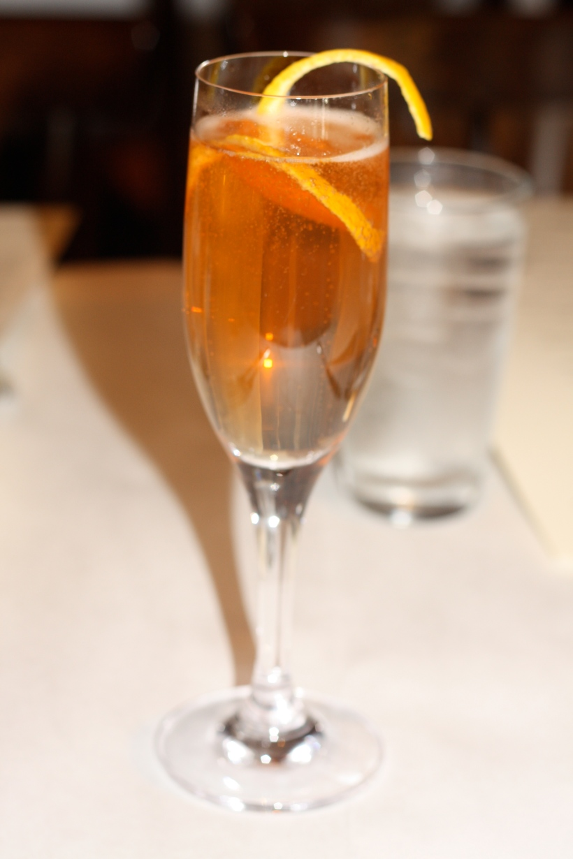 Seelbach: better than your typical brunch mimosa.