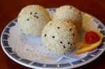 Sesame balls!