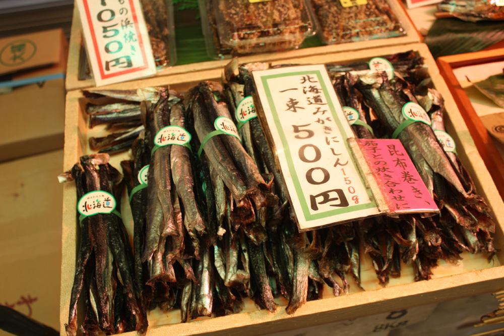 Bundles of fish